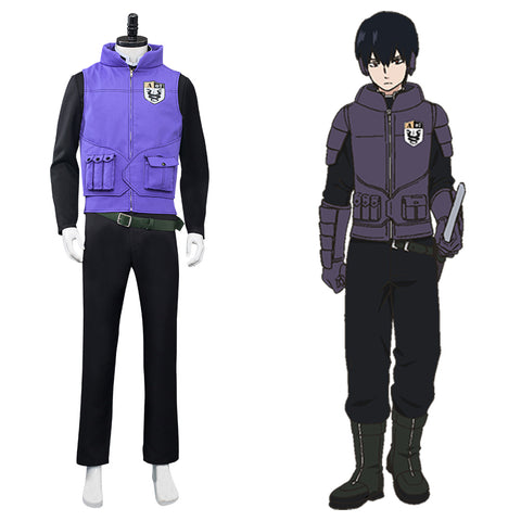 Anime World Trigger Miwa Unit Halloween Carnival Suit Cosplay Costume Top Pants Outfits