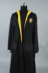 Harry Potter Hufflepuff of Hogwarts Robe Costume
