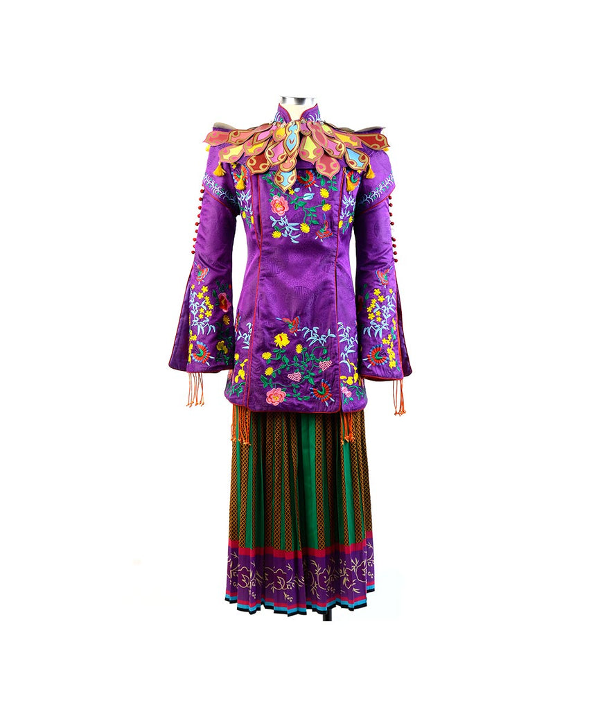 Alice Through The Looking Glass Alice Mandarin Outfit Cosplay Costume –  TrendsinCosplay
