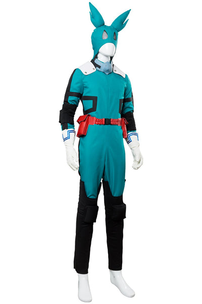 Boku no Hero Academia My Hero Academia Season 2 S2 Izuku Midoriya Deku Battle Suit Cosplay Costume