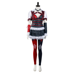 Batman: Arkham Knight Harley Quinn Dress Cosplay Costume
