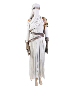 Star Wars VII: The Force Awakens Rey Cosplay Costume