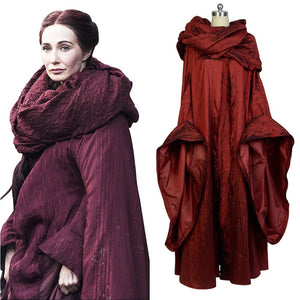 GoT Game of Thrones The Red Woman Melisandre Outfit Cosplay Costume