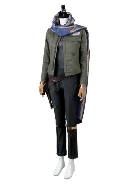 Rogue One: A Star Wars Story Jyn Erso Stardust Outfit Cosplay Costume