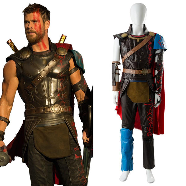 Thor 3 Ragnarok Thor Odinson Outfit Whole Set Cosplay Costume
