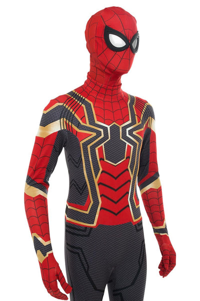 Avengers: Infinity War Iron Spider Spider-Man: Homecoming Spiderman Jumpsuit Cosplay Costume