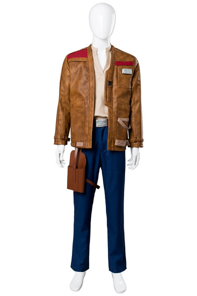 Star Wars 8 The Last Jedi Finn Outfit Cosplay Costume