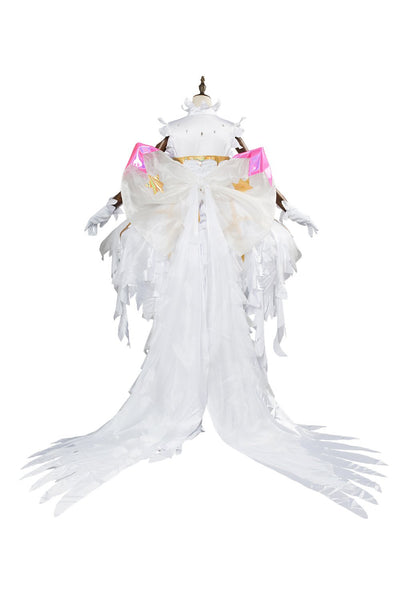 Cardcaptor Sakura:Clear Card Sakura Kinomoto Snow Angel fancy Dress Cosplay Costume