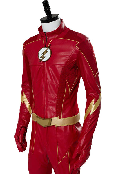 The Flash Season 4 Barry Allen Grant Gustin Flash Outfit Suit Cosplay Costume