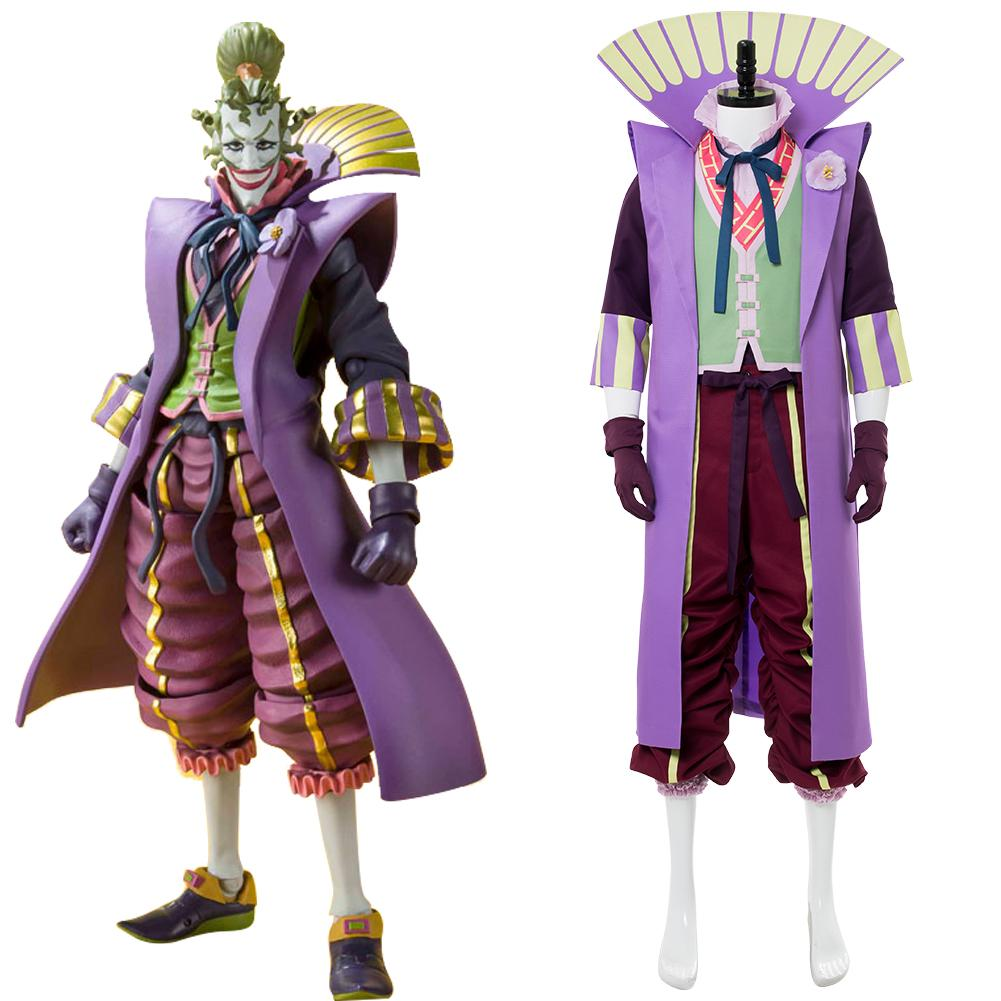 Batman Ninja Joker Outfit Japanese Style Cosplay Costume