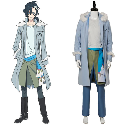Anime Sirius the Jaeger Yuliy Cosplay Costume