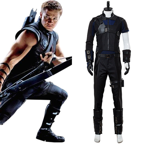 Marvel Captain America 3 Civil War Hawkeye Cosplay Costume