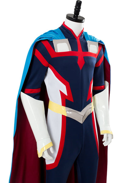 My Hero Academia:Two Heroes Young All Might Costume Boku no Hero Academia Cosplay Outfit