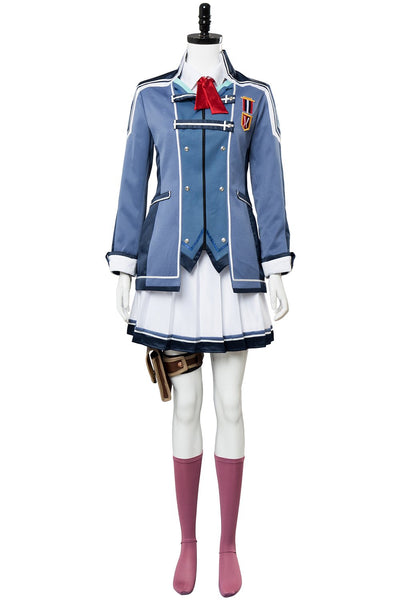 The Legend of Heroes: Trails of Cold Steel Una Crawford Outfit Uniform Dress Cosplay Costume