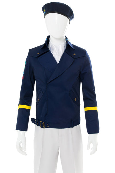 Legend of the Galactic Heroesï¼?Die Neue These Yang Wen-li Cosplay Costume