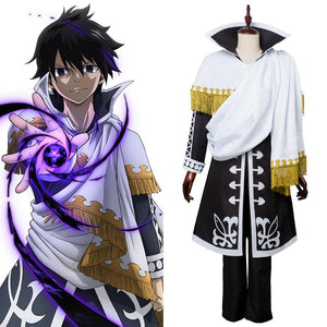 Fairy Tail Season 5 Zeref Dragneel Emperor Outfit Cosplay Costume