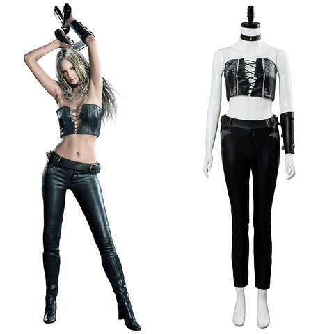 Devil May Cry V DMC5 Trish Outfit Cosplay Costume Female Gaming Halloween Cosplay