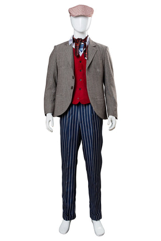 2018 Mary Poppins Returns 2 Lin-Manuel Miranda Jack Cosplay Costume