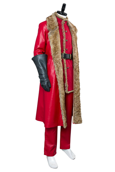 2018 Movie The Christmas Chronicles Santa Claus Outfit Cosplay Costume