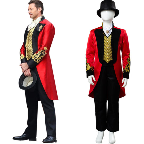 2018 movie The Greatest Showman P.T. Barnum Cosplay Costume for Kids