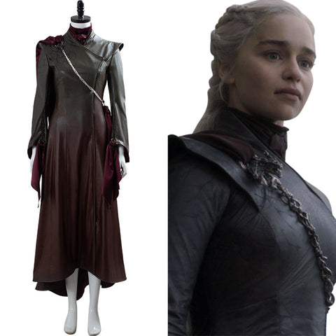 Game of Thrones Daenerys Targaryen Dany Costume Uniform Cosplay Costume