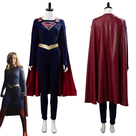Supergirl Season 5 Kara Danvers Cosplay Costume Outfit Dress Suit Uniform