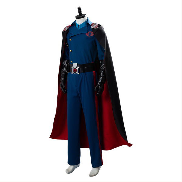 G.I. JoeThe Rise of Cobra Commander Uniform Cosplay Costume