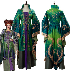 Hocus Pocus Winifred Sanderson Outfit Cosplay Costume