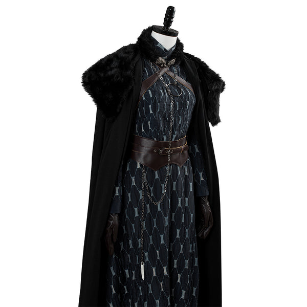 Game of Thrones 8 Sansa Stark Cosplay Costume Woman Halloween Costume