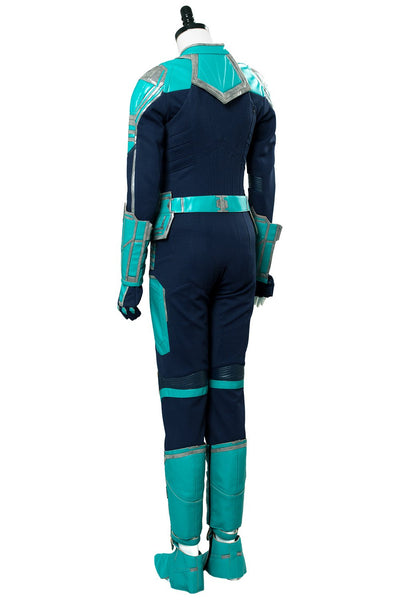Captain Marvel Carol Danvers MS MISS Marvel Outfit Suit Cosplay Costume