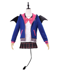 Love Live!  New UR Honoka Kousaka Little Devil Uniform Halloween Cosplay Costume
