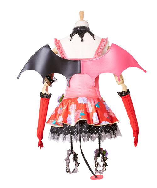 Love Live! New SR Maki Nishikino Little Devil Transformed Uniform Halloween Cosplay Costume