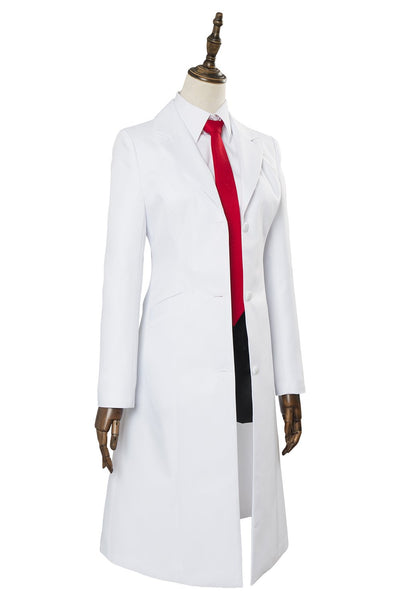 Anime Video Game Steins;Gate 0 Makise Kurisu Uniform Cosplay Costume