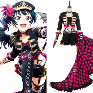 Love Live! Sunshine!! Yoshiko Tsushima Punk Rock Cosplay costume dress