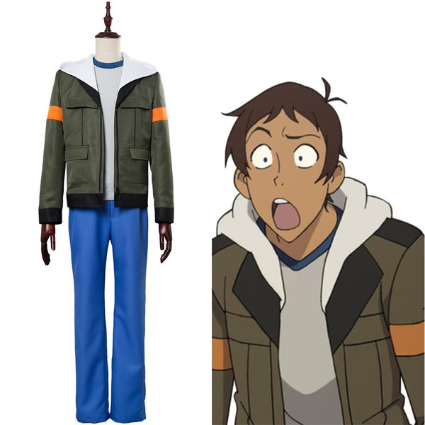 Voltron: Legendary Defender of the Universe Lance Charles McClain Outfit Cosplay Costume
