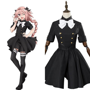 Fate Apocrypha Epilogue Event Astolfo Dress Cosplay Costume