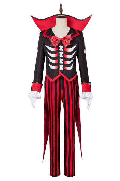 Mickey Mouse Halloween Costume Suit Tuxedo Black Red