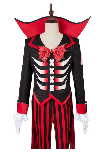 Disney Mickey Mouse Halloween Costume Suit Tuxedo Black Red