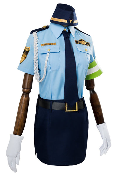 Fate/Extella Link Tamamo no Mae Police Uniform Cosplay Costume for Women Female