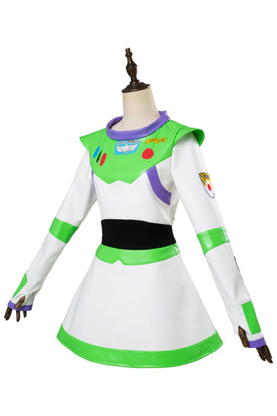 Toy Story Buzz Lightyear Cosplay Costume Girls Hallween Outfit