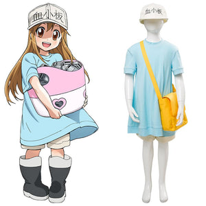 Anime Cells At Work! Platelet Kesshoban Cosplay Costume
