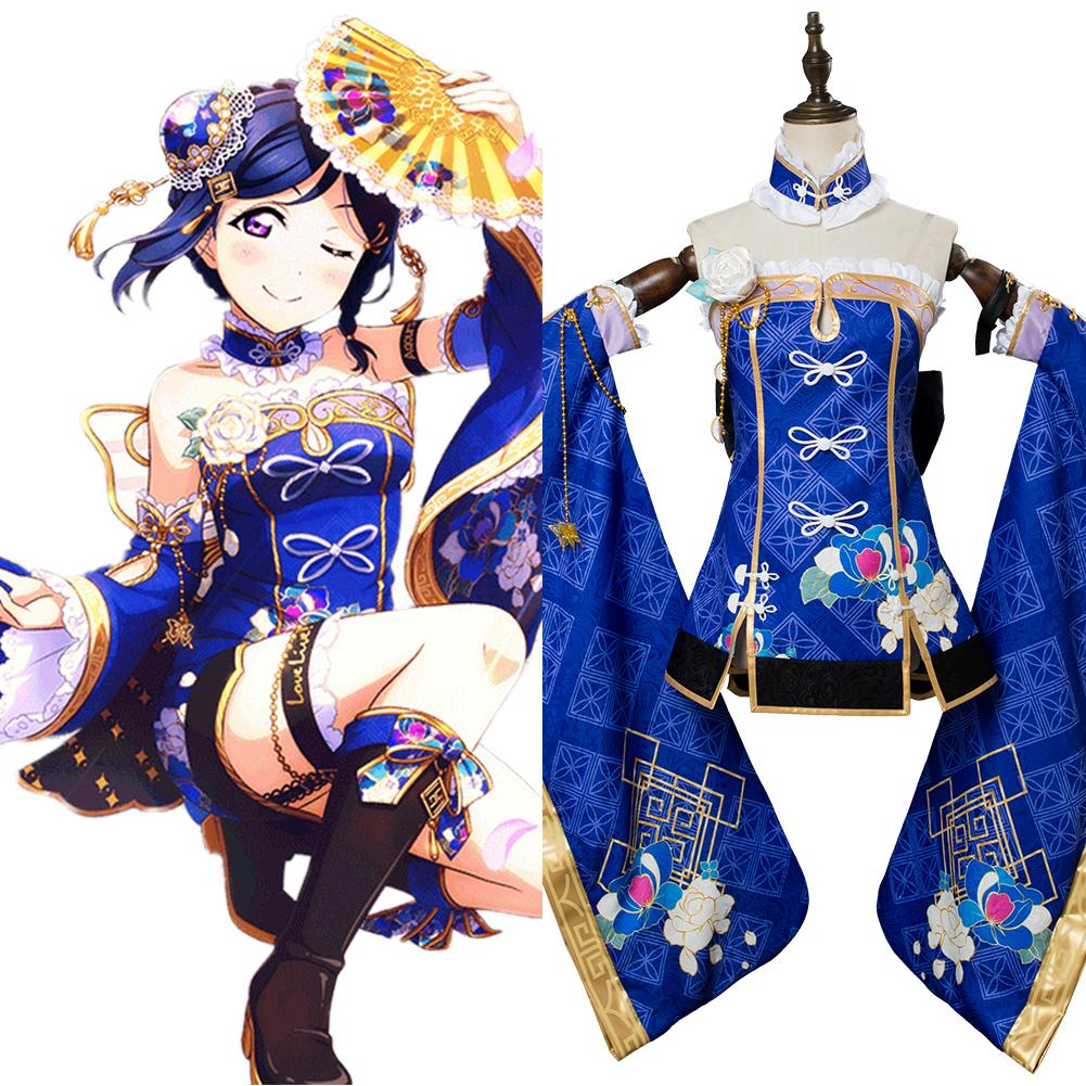 LoveLive Aqours China Dress Ver Kanan Matsuura Cosplay Costume