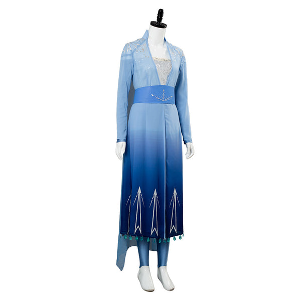 Frozen 2 Princess Elsa Cosplay Costume