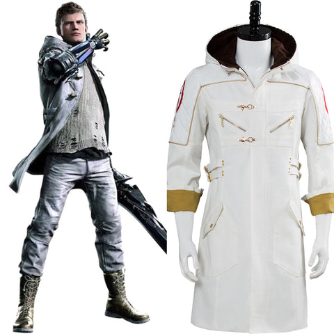 Devil May Cry 5  Nero DLC EX COLOR Cosplay Costume Coat