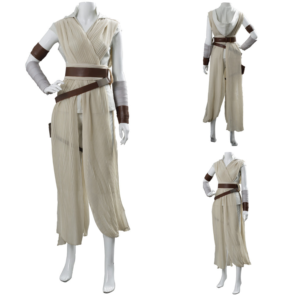 Rey Star Wars The Rise Of Skywalker Cosplay Costume Outfit Dress Suit Trendsincosplay