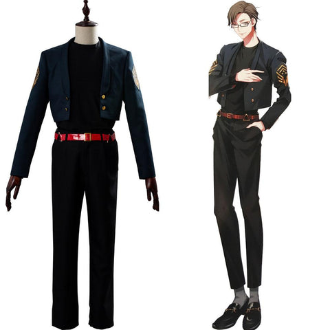 Division Rap Battle Jyuto Iruma Outfit Cosplay Costume