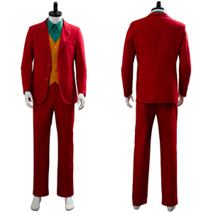 Joaquin Phoenix Arthur Fleck Joker Origin Romeo 2019 Film DC Movie Cosplay Costume Outfit Suit Uniform