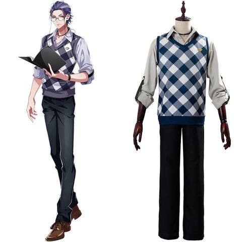 WISDOM Rosho Tsutsujimori Division Rap Battle DRB Hypnosis Mic Suit Cosplay Costume