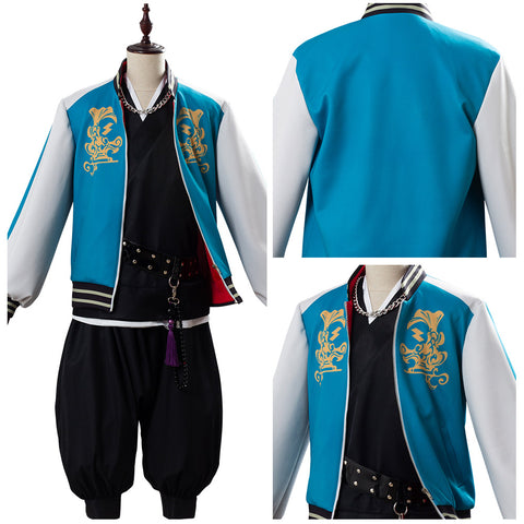 Bad Ass Temple Evil Monk Division Rap Battle DRB Hypnosis Mic Kuko Harai Cosplay Costume