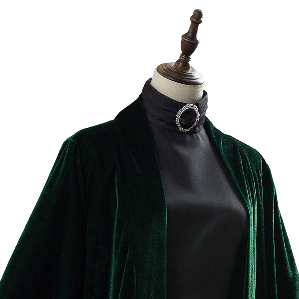 Harry Potter Minerva McGonagall Outfit Cosplay Costume